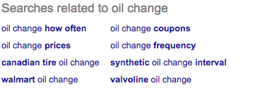Searches related to oil changes