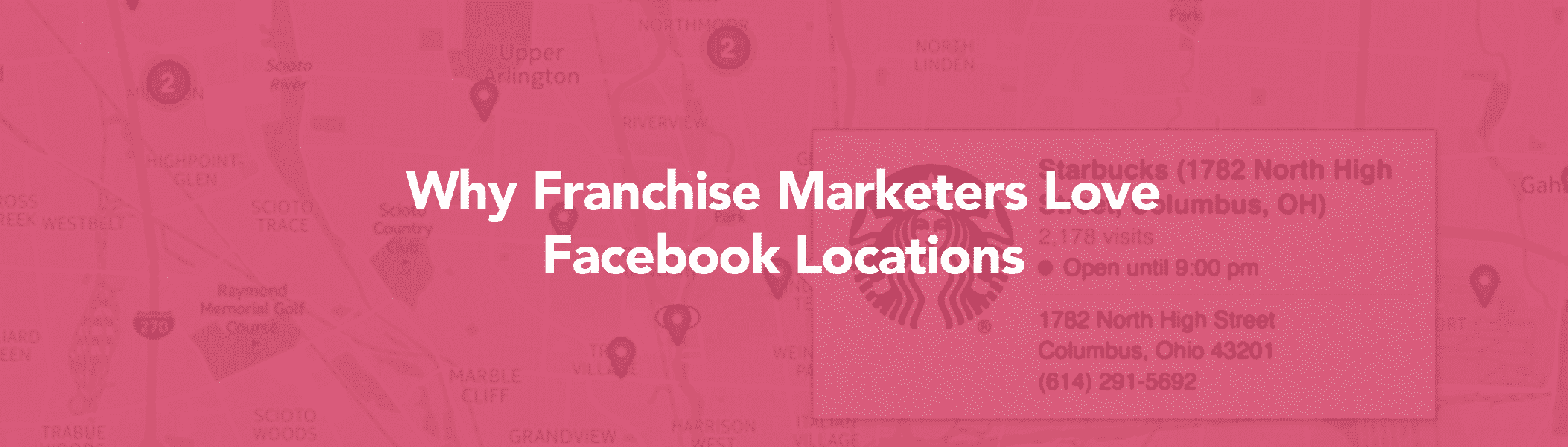 Facebook location for franchises